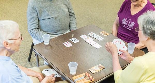 Claire Teague Senior Center Bridge Game