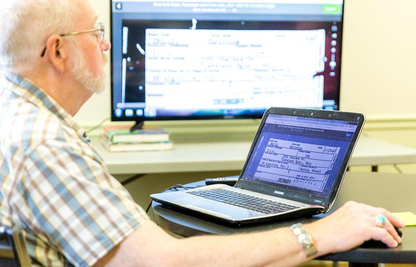 Genealogy at Claire Teague Senior Center